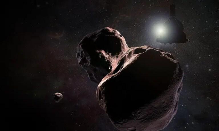 New Horizons Encountering 2014 MU69