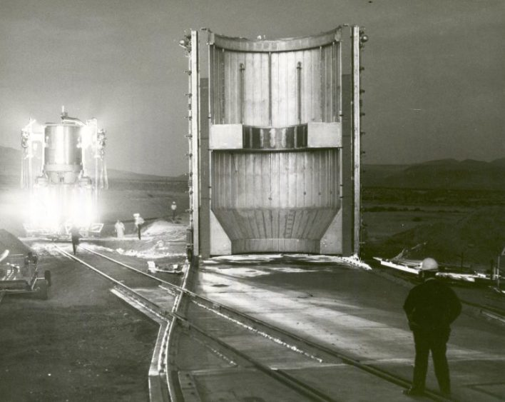 Nükleer Roket Motoru Jackass Flats, Nevada
