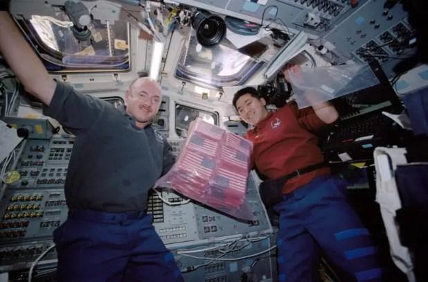 STS-108 astronaut