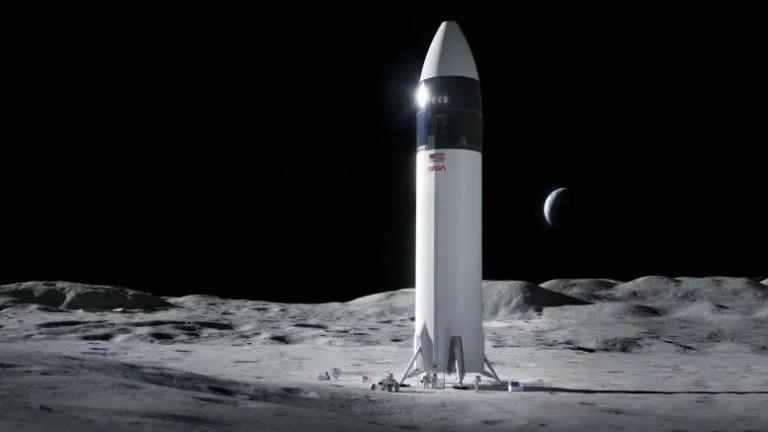 SpaceX Starship Human Lunar Lander