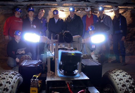 Spelunking Rover May Explore Mysterious Lunar Caverns