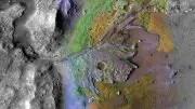 Strange Martian Mineral Deposit