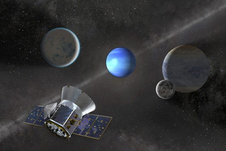 TESS Discovers Its Third New Planet