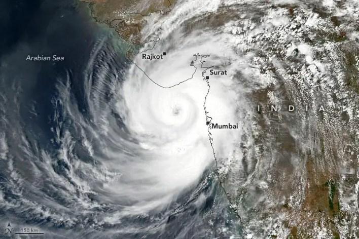 Tauktae Tropikal Siklon Açıklamalı