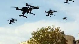 UAV Drone Formation
