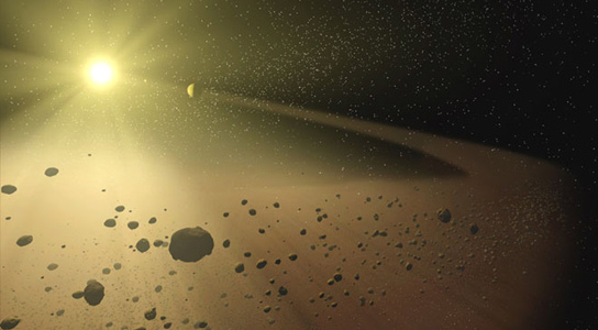 asteroid-belt-indicate-life