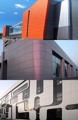 Алюминиевые композитные панели варианты применения