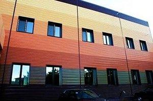 профлист фото здания