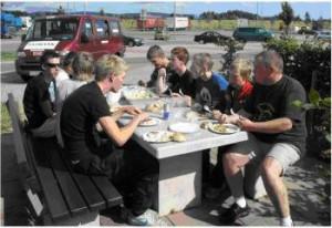 Spisepause ved Kassel