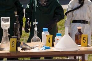 Meth lab methamphetamine lab