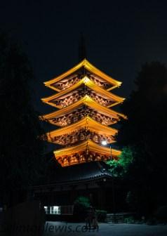 Glowing Pagoda