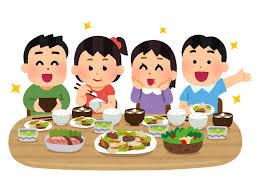 食事をする子供たちのイラスト | かわいいフリー素材集 いらすとや
