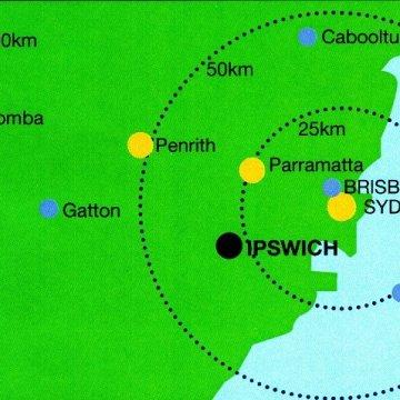 Comparing Sydney's Parramatta to Brisbane's Ipswich