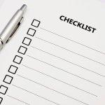 building cost checklist
