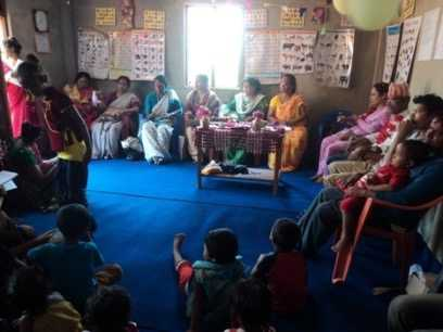 Inauguration of Chanabari Child Center