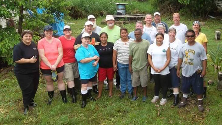 Volunteers working in Belize, an update from the team