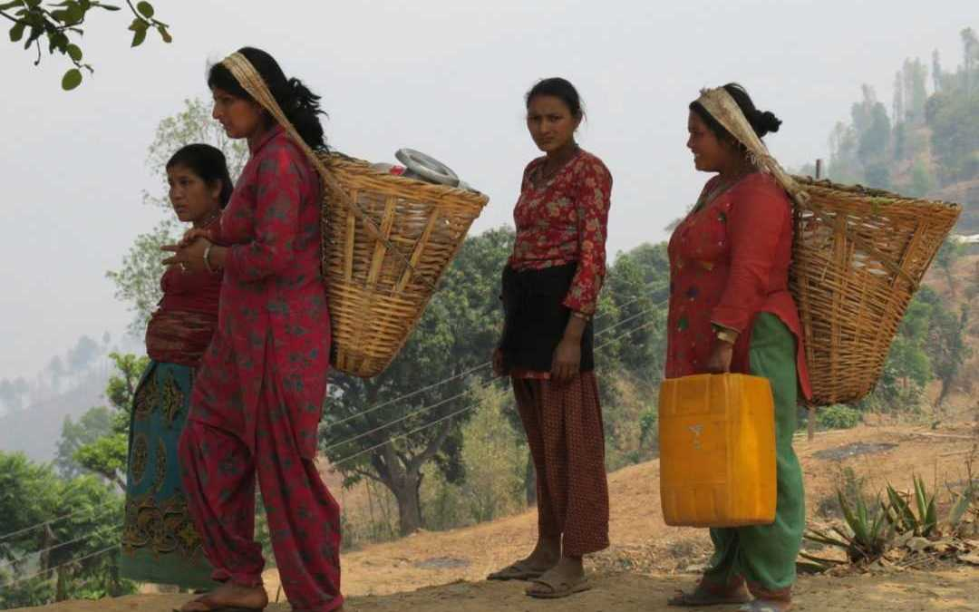 Water shortage in earthquake affected Nepal