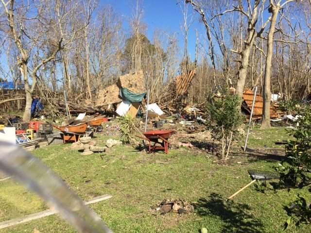 Volunteer trip turns to disaster relief