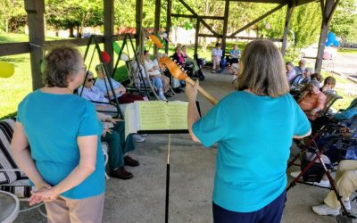 Garden Party for Carrico Hall Sisters at Nazareth