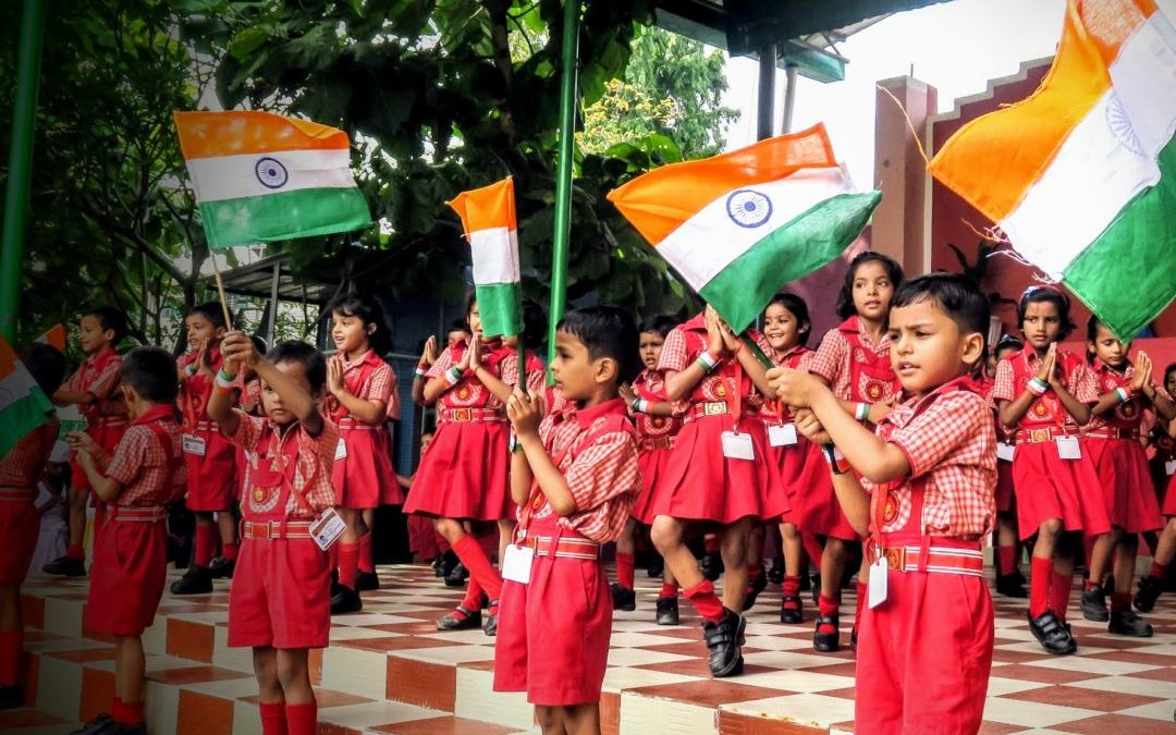 70th Independence Day celebration at Nazareth Hospital and Nazareth Academy in Mokama