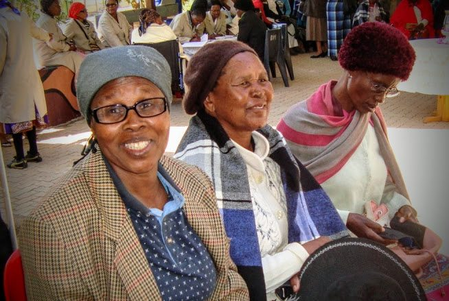 Eye Screening camp at the Hospice, Botswana