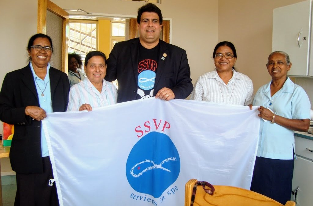President General of the Society of St. Vincent de Paul visits Sisters in Botswana
