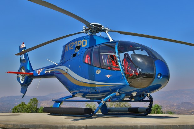 The Eurocopter EC120 Colibri.