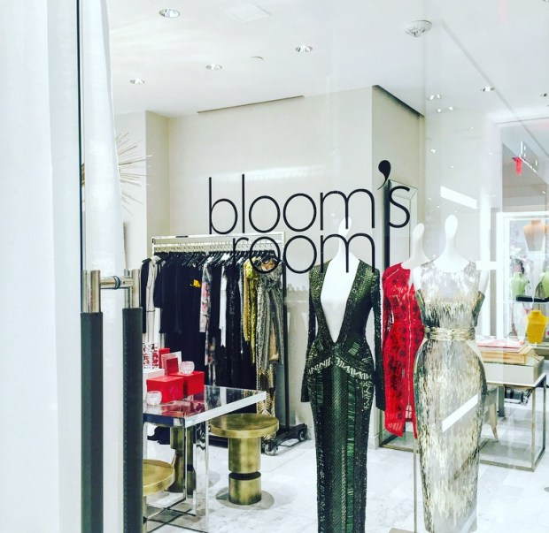 Bloom's Room at Neiman Marcus Beverly Hills.