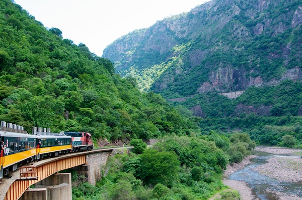 Taking the Chepe train through Mexico's Copper Canyon