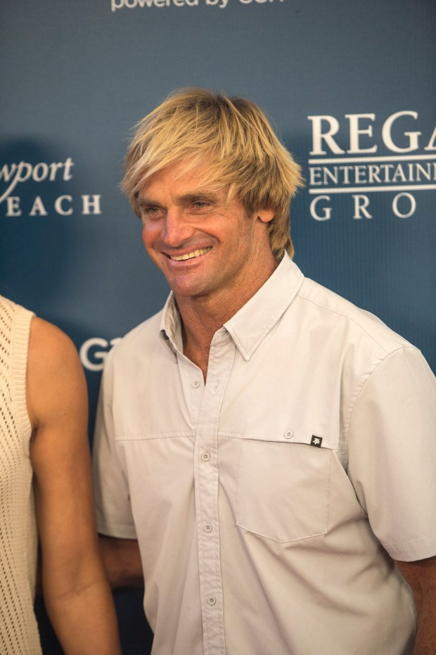Laird Hamilton at the red carpet on opening night of the Newport Beach Film Festival in Newport Beach on Thursday, April 20, 2017. (Photo by Matt Masin, Orange County Register, SCNG)