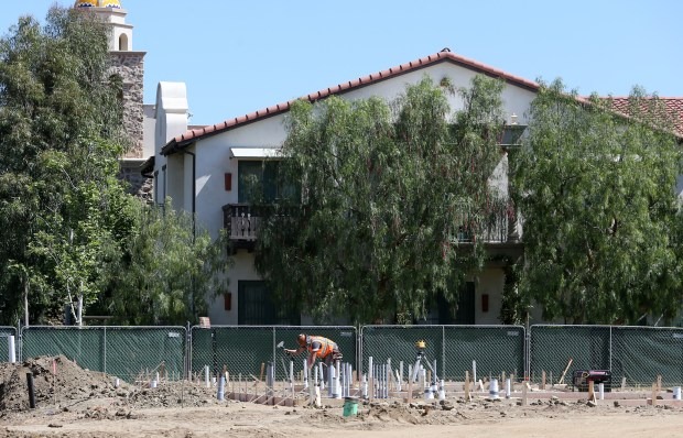 Work crews work on Ponte Winery site in the Temecula Wine Country in Temecula Wednesday, Apr.12, 2017. FRANK BELLINO, THE PRESS-ENTERPRISE/SCNG