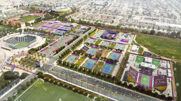Exterior: New Renderings Show How 2024 Olympic Games Would Look At