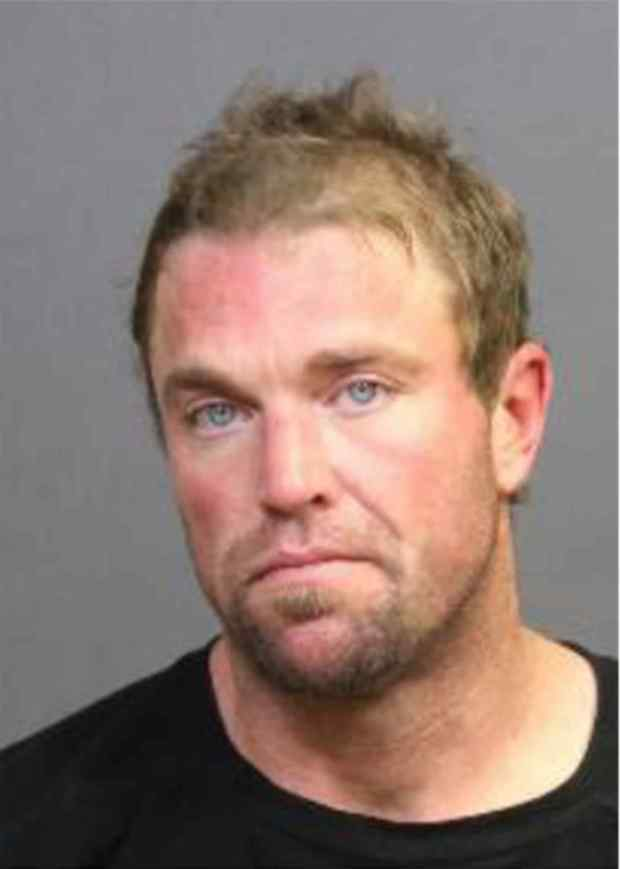 Timothy Allen Wozniak, arrested on suspicion of inflicting corporal injury to a female victim while driving in Costa Mesa. (Photo courtesy of the Costa Mesa Police Department)