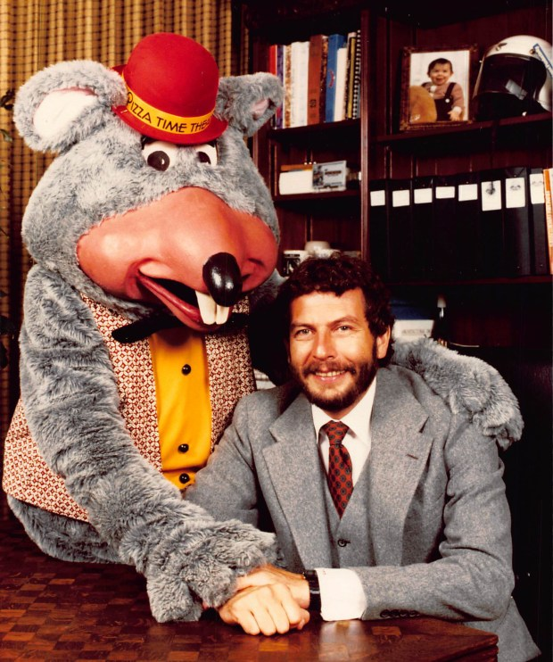 Nolan Bushnell founded the Chuck E. Cheese's pizza chain as a place where kids and their parents could enjoy a pizza together, while kids played games and also a show. (Photo courtesy: Chuck E. Cheese's)
