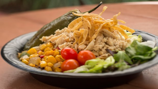One of the dining offerings at the Pecos Bill Tall Tale Inn and Cafe in Frontierland at the Magic Kingdom of Walt Disney World. (Photo courtesy: Walt Disney World Resort)