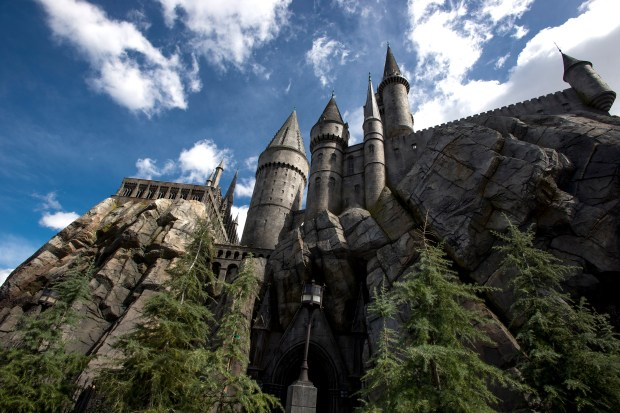 "Hogwarts Castle by day at ""The Wizarding World of Harry Potter"" at Universal Studios Hollywood. (File photo by Leonard Ortiz, Orange County Register/SCNG)"