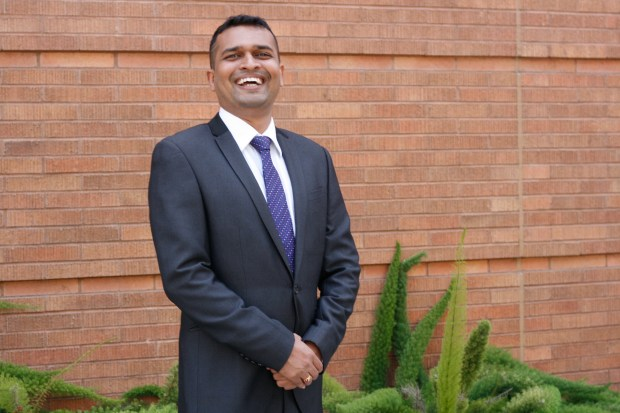Cal State Fullerton student Ameya Agavekar was taught to stay hungry and follow his dreams. (Photo courtesy of Cal State Fullerton)