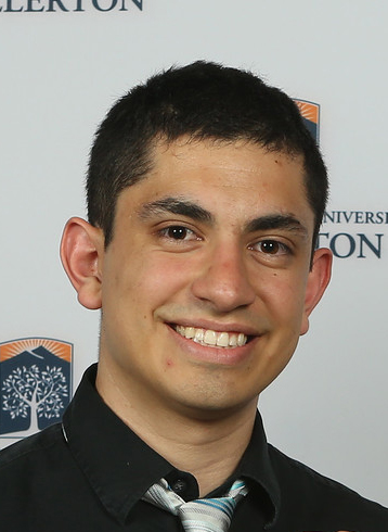 Cal State Fullerton student Allen Alvarez-Loya wants to put applied math to work solving real-world problems. (Photo courtesy of Greg Andersen)