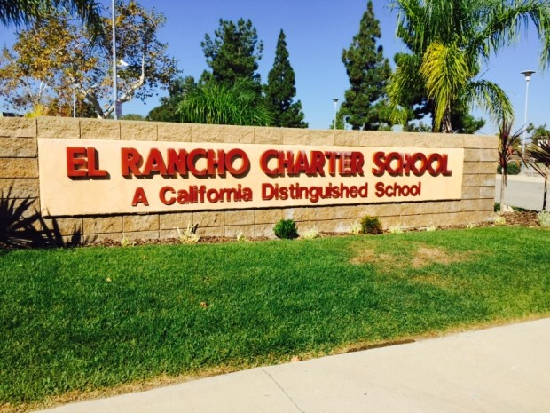 The renewal of El Rancho's charter will be discussed at an Orange Unified School District Board of Education meeting Thursday, May 25. El Rancho is maintaining that its charter has been automatically renewed by state law - the district has been insisting otherwise. (Courtesy of El Rancho Charter School)