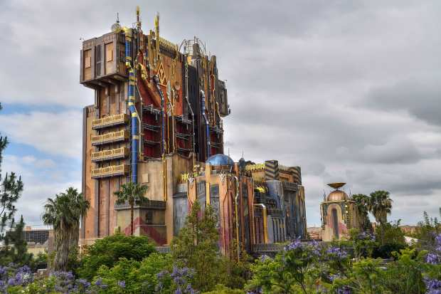 The new Guardians of the Galaxy- Mission Breakout! at Disney California Adventure in Anaheim, California, on Wednesday, May 17, 2017. The ride, similar to The Twilight Zone Tower of Terror it replaced, gives the riders a sensation of free-falling as they site in a vehicles that drop randomly while doors open with new visual effects from the Guardians of the Galaxy universe. (Photo by Jeff Gritchen, Orange County Register/SCNG)