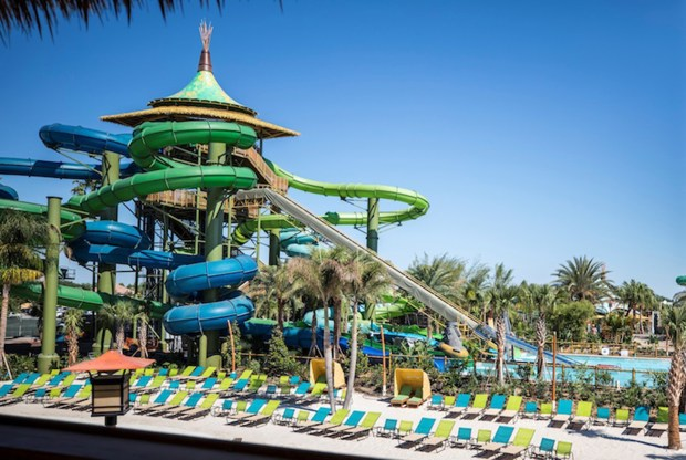 Volcano Bay, a new water park at the Universal Orlando Resort, is based on a fictional premise, not a movie. (Photo courtesy: Universal Orlando Resort)