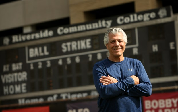 Dennis Rogers, who spent nearly three decades as head baseball coach at RCC, officially announced his retirement. The Tigers won three state championships under Rogers, but the focus was always on development of players and the coaching staff. (Stan Lim, The Press-Enterprise/SCNG)