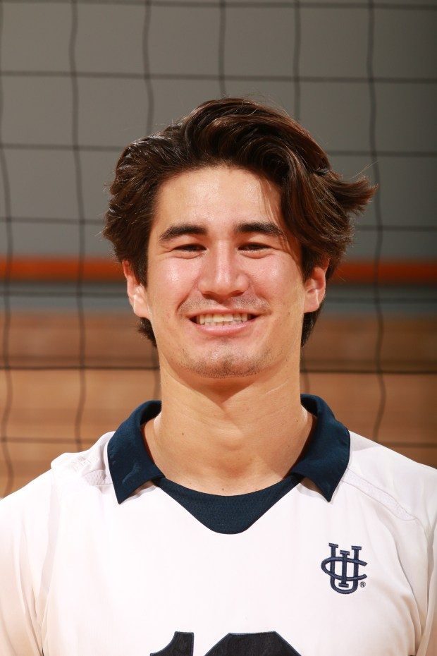 UC Irvine libero Dillon Hoffman - a 2012 San Clemente High graduate - was an AVCA Honorable Mention All-American and a Mountain Pacific Sports Federation Honorable Mention selection this past season. (Photo courtesy of UC Irvine Athletics)