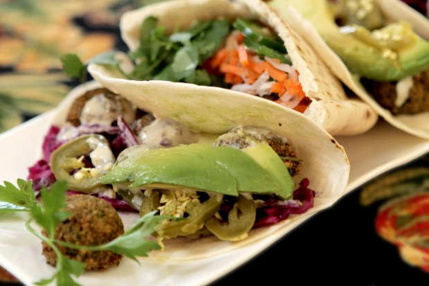 Rashad Moumneh, chef-owner of Falasophy, makes some of the best falafels around. (Curt Norris)