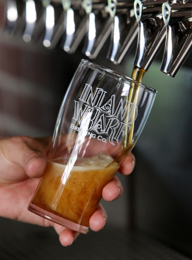 Inland Wharf is the newest craft beer brewery in Murrieta. (Frank Bellino, The Press-Enterprise/SCNG)