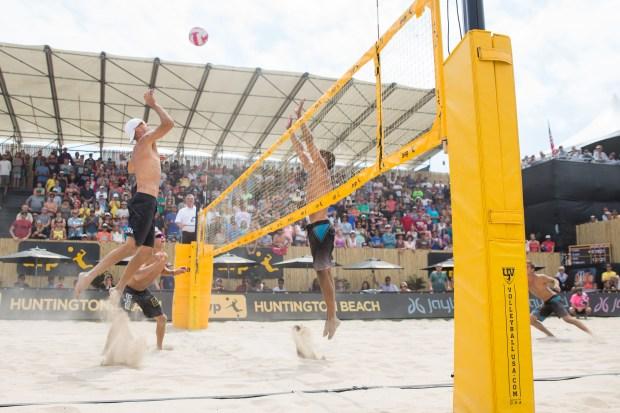 The Association of Volleyball Professionals Pro Beach Volleyball Tour runs through Sunday at Huntington Beach Pier.