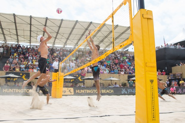 The Association of Volleyball Professionals Pro Beach Volleyball Tour runs through Sunday at Huntington Beach Pier.