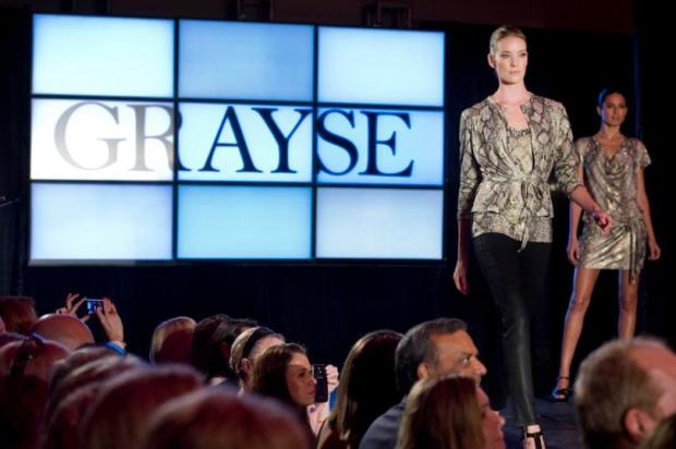 Runway models sport styles from Grayse during the 7th annual Designer Runway fundraiser at The Laguna Design Center in Laguna Niguel Thursday evening. Proceeds benefit the Council on Aging of Orange County.//ADDITIONAL INFO: EyeMain.1022 - 9/12/13 - PHOTO BY JOSHUA SUDOCK, ORANGE COUNTY REGISTER -- EYE ON O.C. FEATURE -- The Laguna Design Center, a space for luxury home furnishings,hosts the 7th annual Designer Runway co-hosted by The Colton Company and Luxe Interiors + Design Magazine. Proceeds benefit the Council on Aging of Orange County. Picture made at Laguna Design Center in Laguna Niguel Thursday, September 12, 2013.