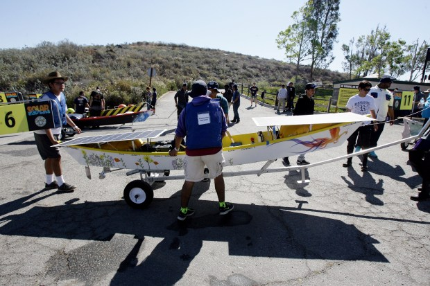 The Metropolitan Water District of Southern California's 15th annual Solar Cup Competition will feature more than 700 students from 43 Southern California high schools in boats powered by nothing but the sun Saturday, May 20, and Sunday, May 21, at Lake Skinner near Winchester. File photo by Frank Bellino, The Press-Enterprise/SCNG