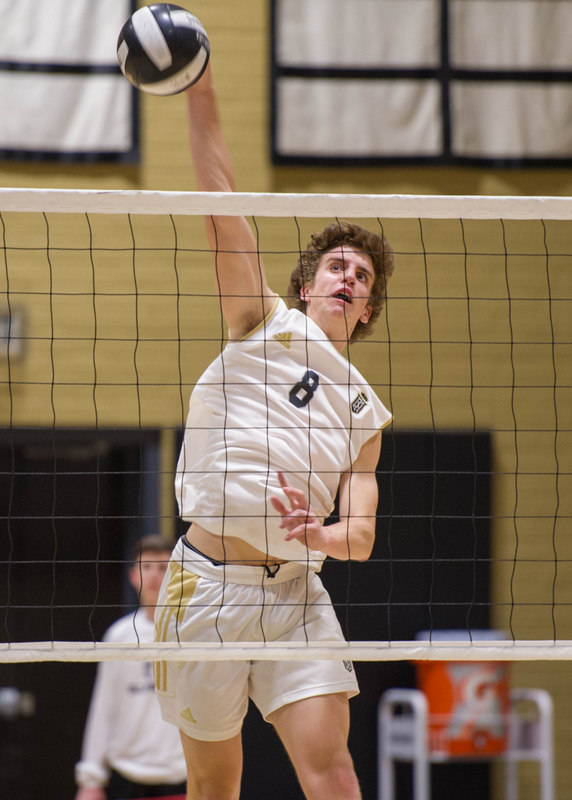 Halsey became Servite's all-time kills leader this season (Photo courtesy of Magic Moments Sports Photography)